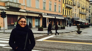 Resolve and Scholarship Help Lead Student to Italy