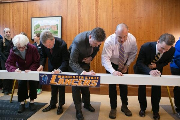 Signing the Beam