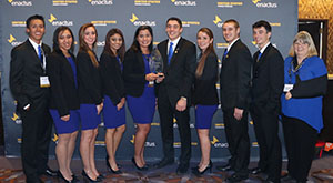 Enactus Wins Regionals to Qualify for Nationals in May