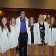Nursing Students Get White Coats